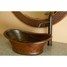 Медная раковина для ванной